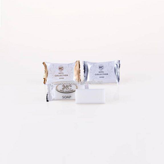 Jabón rectangular con bolsita individual 12 gr