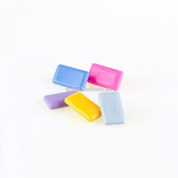 Jabón de colores